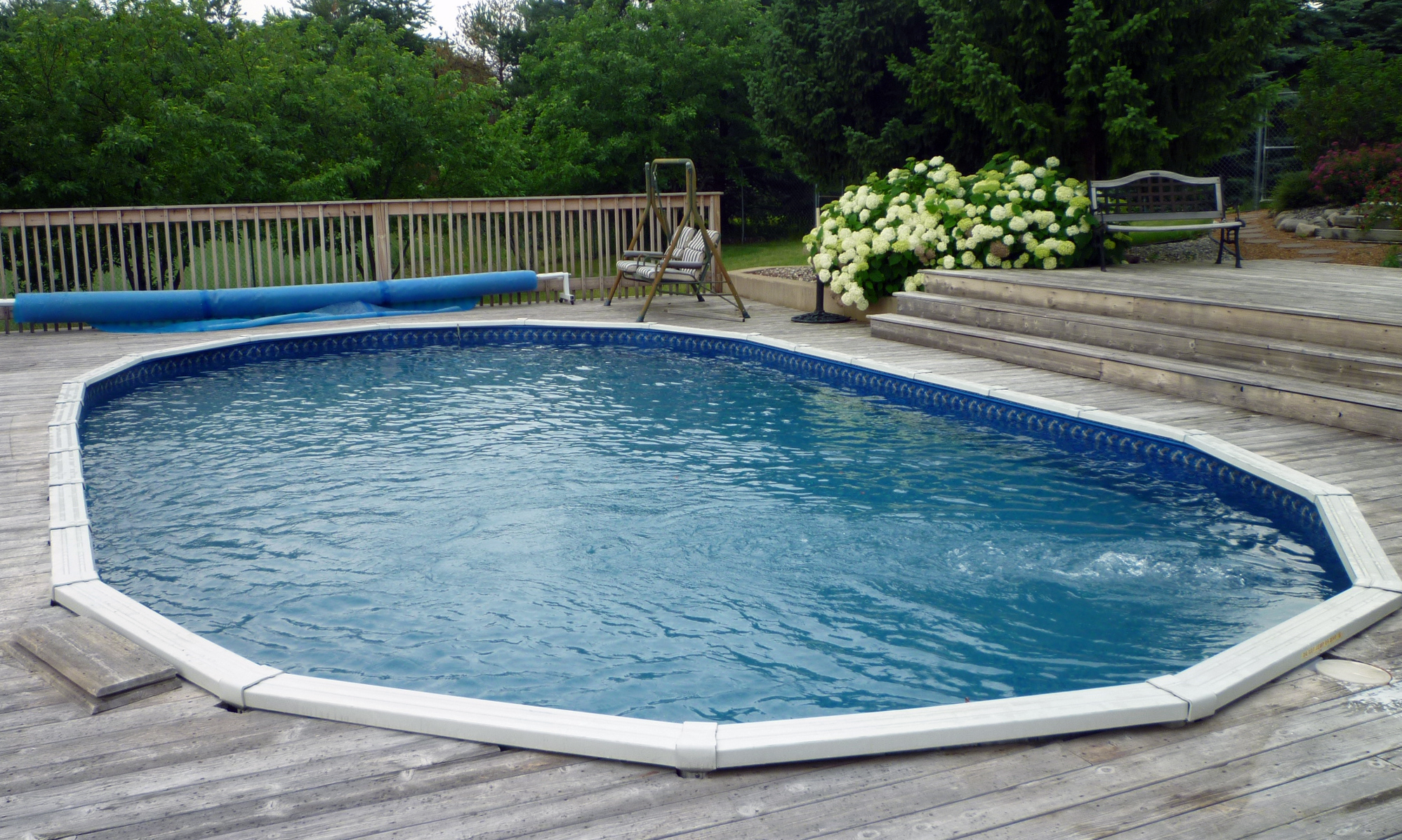 Fixing Up the Swimming Pool – It's Hot Outside!