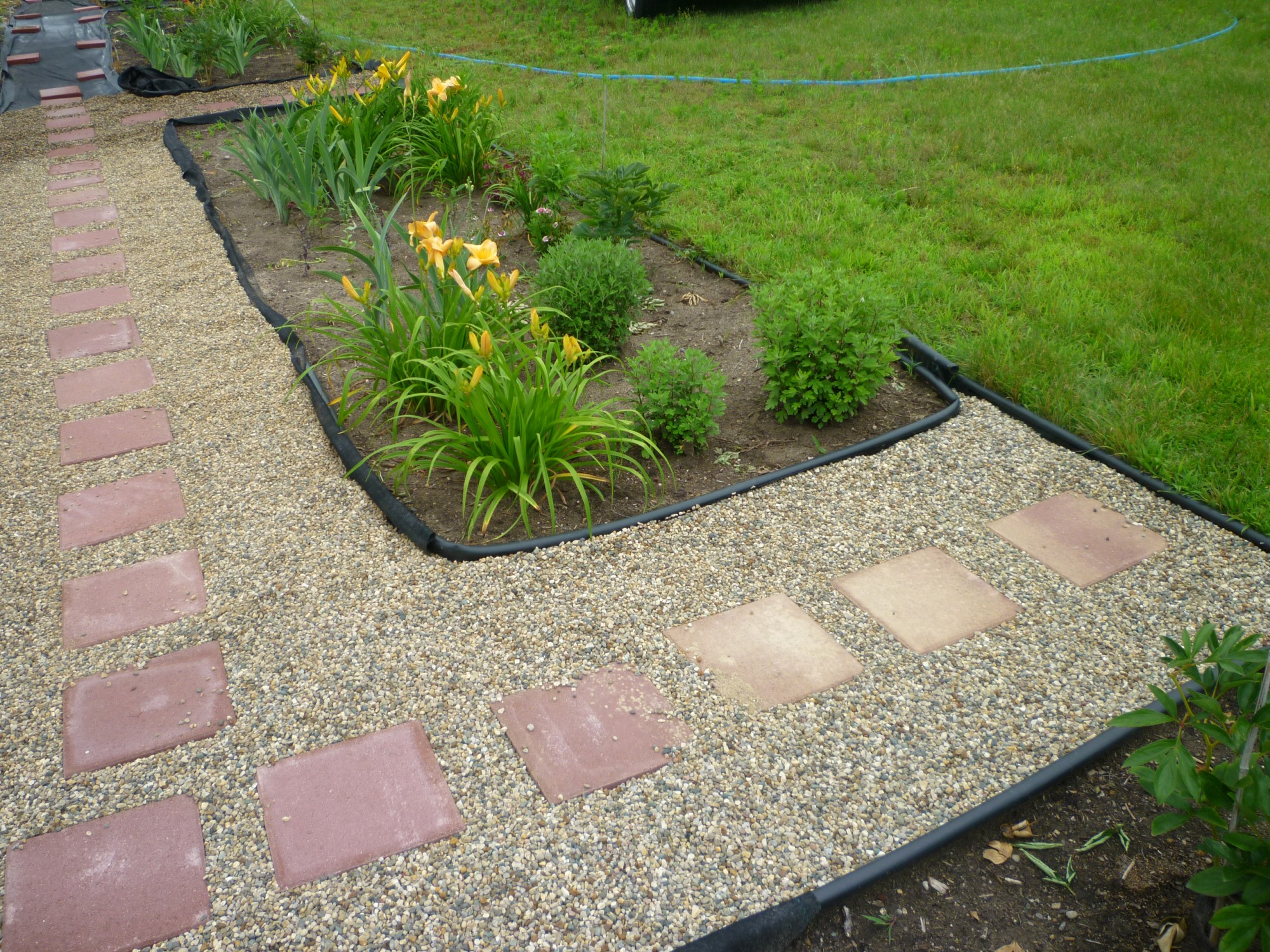 adding magic to flower gardens with pathways how to lay