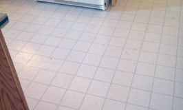 All For A New Disposal – New Kitchen Floor and Lights